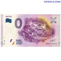"""0 Euro banknote 2019 Portugal """"SINTRA"""""""