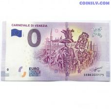 0 Euro banknote 2019 - Carnevale Venezia