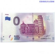 0 Euro banknote 2019 - Pisa