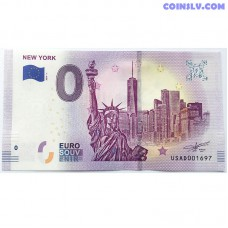 0 Euro banknote 2019 - New York