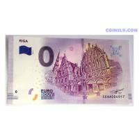 0 Euro banknote 2019 - Riga