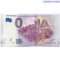 0 Euro banknote 2019 - San Marino