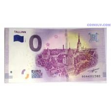 0 Euro banknote 2019 - Tallinn