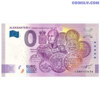 """0 Euro banknote 2020 Finland """"ALEKSANTERI 1"""" (ANNIVERSARY EDITION)"""