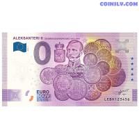 """0 Euro banknote 2020 Finland """"ALEKSANTERI 2"""" (ANNIVERSARY EDITION)"""