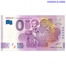 "0 Euro banknote 2020 Finland ""NIKOLAI 1"" (ANNIVERSARY EDITION)"