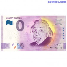 """0 Euro banknote 2020 Germany """"ALBERT EINSTEIN"""""""