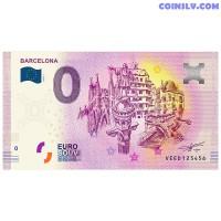 "0 Euro banknote 2020 Spain ""BARCELONA"" (ANNIVERSARY EDITION)"
