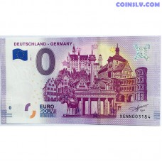 0 Euro banknote 2020 - Deutchland - Germany