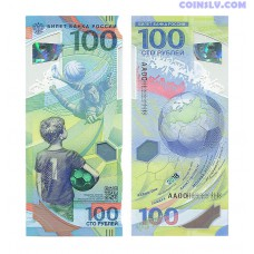 Russia 100 Roubles 2018 FIFA World Cup
