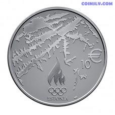 "10 Euro Estonia 2014 ""XXII Olympic Winter Games in Sochi"""