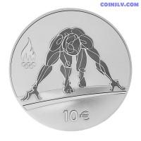 """10 Euro Estonia 2016 """"XXXI Summer Olympic Games in Rio De Janeiro"""""""