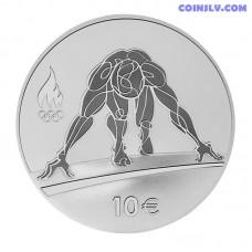 """10 Euro Estonia """"XXXI Summer Olympic Games in Rio De Janeiro"""""""