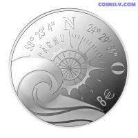 "8 Euro Estonia 2021 ""Hanseatic Pärnu"""