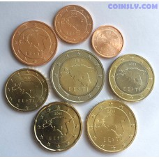 Estonia euro set 2018 UNC (8 coins)