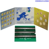 Lithuania official BU euro set 2020 (8 coins)