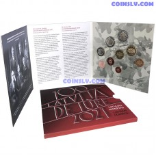 Latvia 2021 BU official euro set - The 100th anniversary of Latvia's international recognition de iure (9 Coins)