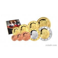 Belgium 2014 BU official euro set 1 cent - 2 euro