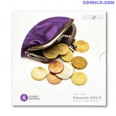"Finland 2014 Official BU euro set ""Rahasarja 2014/II"" (9 coins)"