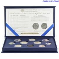 Malta 2012 Official Euro coin set in box (1c-2€ +2€ Majority)
