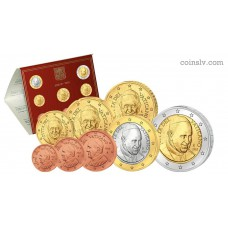 Vatican 2015 official BU euro set (8 coins)