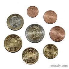 Austria 2017 euro set 1 cent - 2 euro