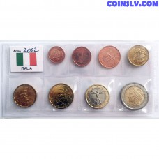 Italy 2002 Euro Set 1 Cent - 2 Euro (UNC loose)