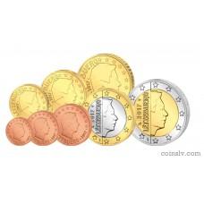 Luxembourg 2017 euro set 1 cent - 2 euro