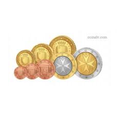 Malta 2016 euro set 1 cent - 2 euro