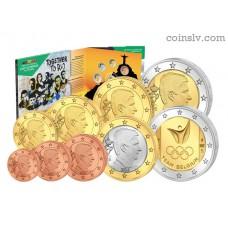 Belgium 2016 BU official euro set + 2 euro Rio