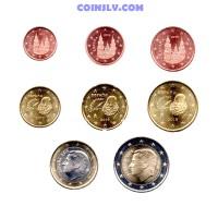 Spain 2019 euro set 1 cent - 2 euro