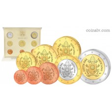 Vatican 2017 official BU euro set (8 coins)