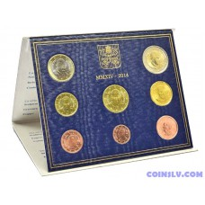 Vatican 2014 official BU euro set - Pope Francis (8 coins)