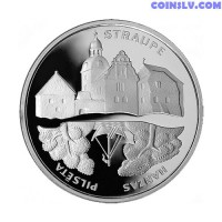 Latvia 1 Lats 2006 - Hansa Cities. Straupe