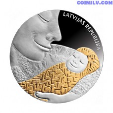 Latvia 1 Lats 2007 - Coin of Life