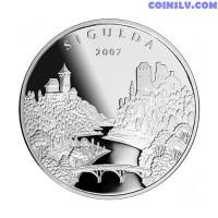 Latvia 1 Lats 2007 - Sigulda