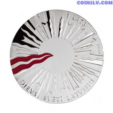Latvia 1 Lats 2007 - Rebirth of the State