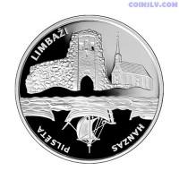Latvia 1 Lats 2008 - Hansa Cities. Limbazi
