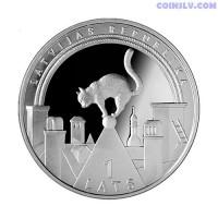 """Latvia 1 Lats 2008 """"Lucky coin"""""""