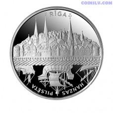 """Latvia 1 Lats 2011 """"Hansa Cities. Riga"""""""