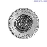 """Latvia 1 Lats 2011 """"Riga Money 800"""""""