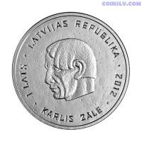 "Latvia 1 Lats 2012 ""Karlis Zale"""