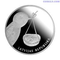 """Latvia 1 Lats 2013 """"Baby coin"""""""