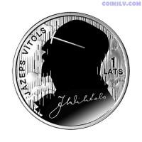 "Latvia 1 Lats 2013 ""Jāzeps Vītols"""