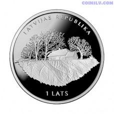 """Latvia 1 Lats 2013 """"Rudolf Blaumanis"""""""