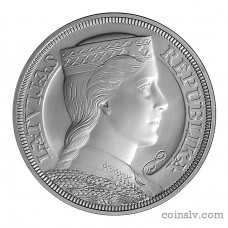 "Latvia 5 Lati 2012 ""5-lats Silver Collector Coin"" (Milda)"
