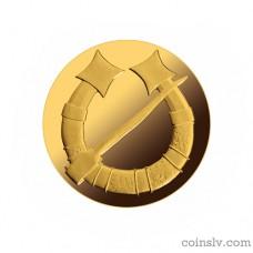 "Latvia 20 euro 2017 ""Gold Brooches. The Horseshoe Fibula"""