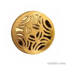"""Latvia 5 euro 2016 """"Gold Brooches. The Disc Fibula"""""""