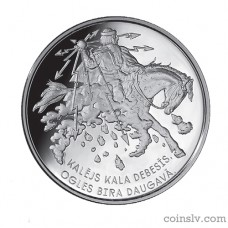 "Latvia 5 euro 2017 ""Smith forges in the sky"""