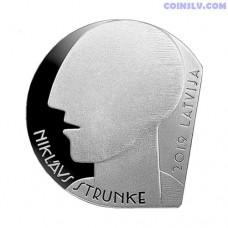 Latvia 5 euro 2019 - Niklavs Strunke